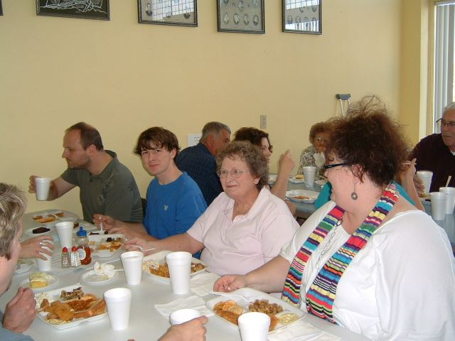 Lenten Fish Fry in Collyer